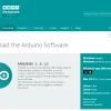 Arduino開発環境の準備