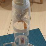 パラシュート付き水ロケットを作ってみた
