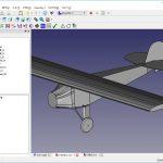 ラジコン飛行機 練習機の設計 その4 -三面図作成中-